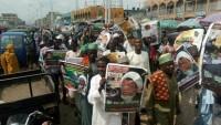 Nijerya halkı Şeyh Zakzaki'nin özgürlüğü için sokaklara indi