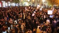 Tel Aviv'de Netanyahu protesto edildi