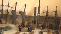 Doğu Guta'da ABD yapımı silahlar bulundu