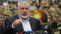 İsmail Heniyye, Filistinlilerin dönüş hakkı yürüyüşlerinin devam edeceğini bildirdi.
