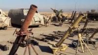 Deyrizor'da IŞİD'lilerden geriye ABD ve İsrail yapımı silahlar kaldı