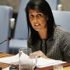 Nikki Haley'den BM'ye İran tepkisi