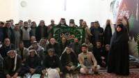 Iraklı yaya ziyaretçiler Hz. İmam Rıza (as)'ın haremine ulaştılar