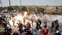 Trump'ın Kudüs Kararına Karşı İntifadanın 15'inci Cumasında Onlarca Kişi Yaralandı 