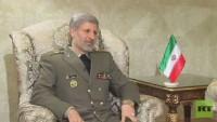 İran savunma bakanı: Suriye'deki yabancı güçler Suriye'den ayrılmalı