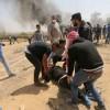 İşgalci İsrail güçlerinin saldırısında onlarca Filistinli şehit oldu ve yaralandı