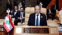 Lübnan Cumhurbaşkanından Suriye'de Uluslararası savaş uyarısı