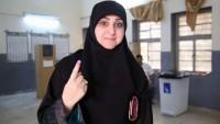 Irak'ta parlamento seçimlerine katılım yüzde 44.5 oldu