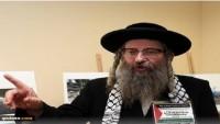 Yahudi Haham: Siyonistler, bir ülke kurma hakkına sahip değildir