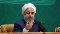 İslami İran Cumhurbaşkanı Ruhani: İran milleti Amerika ile mücadelede ABD'yi yenilgiye uğratacak