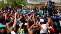Irak'ın çeşitli bölgelerinde gösteriler sürüyor