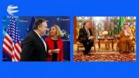 Pompeo, Suudi dışişleri bakanı ve Mogherini ile İran'ı görüştü