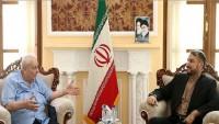 Emir Abdullahiyan: İran Filistin'i desteklemeye devam edecek