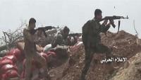 Hama'da Suriye birlikleri teröristleri püskürttü
