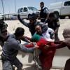 Siyonist Gasıp İsrail Rejimi Askerleri, Filistinli Kadınları Darp Etti
