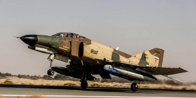 İran ordusu hava kuvvetleri tatbikata başladı