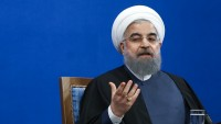 Hasan Ruhani: Amerikalılar, bölge halkı arasında ortaya çıkmaya cesaret edemiyorlar