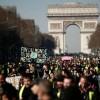 Fransa'da Sarı Yeleklilerin protestoları üçüncü ayında