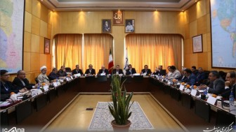 Filistin elçisi ve Hamas temsilcisi İran milli güvenlik komisyonu oturumuna katıldılar