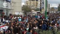 Suriye halkı Trump'ın Golan'la ilgili kararını protesto etti