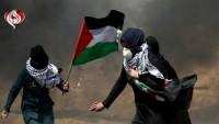 Terör rejimi İsrail'in açtığı ateşte 1 şehit ve 50 kadar yaralı