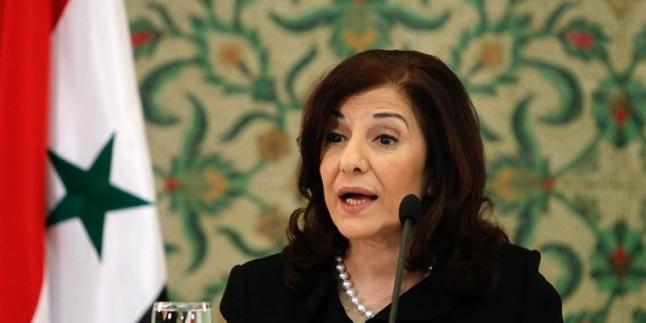 Buseyna Şaban: İran ve Rusya, Suriye'nin yeniden yapımının asli ortaklarıdır