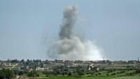 Teröristlerden Hama'ya roketli saldırı