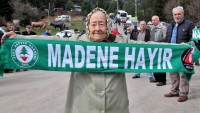 """Cerattepe'de """"Madene Hayır"""" sloganları devam ediyor"""