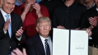 Trump'tan Meksika sınırına duvar konusunda geri adım
