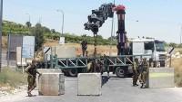 İşgal Güçleri Batı Yaka ve Gazze'nin Bütün Kapılarını Kapattı