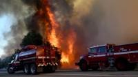 California'daki yangında 700 kişi tahliye edildi
