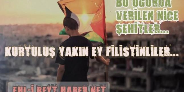 Tasarım: Kurtuluş Yakın Ey Filistinliler!