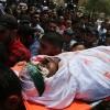 Kassam Tugayları Şehitleri Kalabalık Bir Törenle Toprağa Verildi 