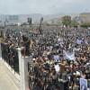 Foto: Yemen Hizbullahının Şehid Edilen Cumhurbaşkanı Salih Sammad'ın Cenazesine Milyonlarca Yemenli Katıldı