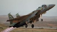 Siyonist İsrail savaş uçağı, Kunaytra'da düşürüldü