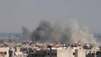 Halep'te teröristlere ait zehirli kimyasal içeren mermiler bulundu