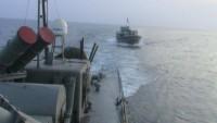 İranlı muhrip'ten ABD savaş gemisine uyarı