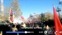 KUDÜS'e Sahip Çıkma Çağrısına Lebbeyk Diyen Ankara Halkı Sokaklara Döküldü