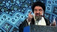 İran Cuma Namazı Hatibi Ayetullah Ahmed Hatemi'den Trump'ın Ziyaretine Anlamlı Yorum