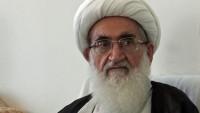 Ayetullah Nuri Hemedani: Halk Amerika'nın komploları karşısında sessiz kalmamalı