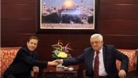 Siyonist İsrail muhalefeti lideri: Mahmud Abbas'la 3. intifadanın önlenmesi konusunda anlaştık