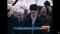 Video: Seyyid İmam Ali Hamaney, Ayetullah Rafsancani'nin cenaze namazını kıldırdı