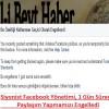 Siyonist Facebook Yönetimi, 1 Gün Süreyle Paylaşım Yapmamızı Engelledi