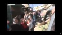 Video: Suriye Halkı Teröristlerden Temizlenen Beldelerde Orduyu Büyük Bir Destekle Karşıladı