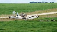 Avustralya'da Küçük Bir Uçak Düştü