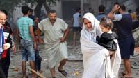 Bağdat'ta doğalgaz patlaması