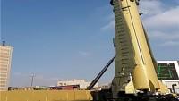 İran Yapımı Kadir Balistik Füzesi Sergilendi