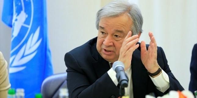 Guterres: Golan, Suriye'ye aittir