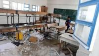 İşgal Güçleri Gazze'deki BM'ye Ait Okulu Toplarla Vurdu