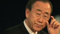 """Ban Ki Moon Ayıp Olmasın Diye Konuştu: """"İsrail Barışı Engelliyor"""""""